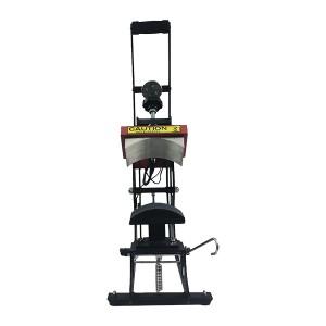 Semi-auto Open Cap & Tag Heat Press Machine