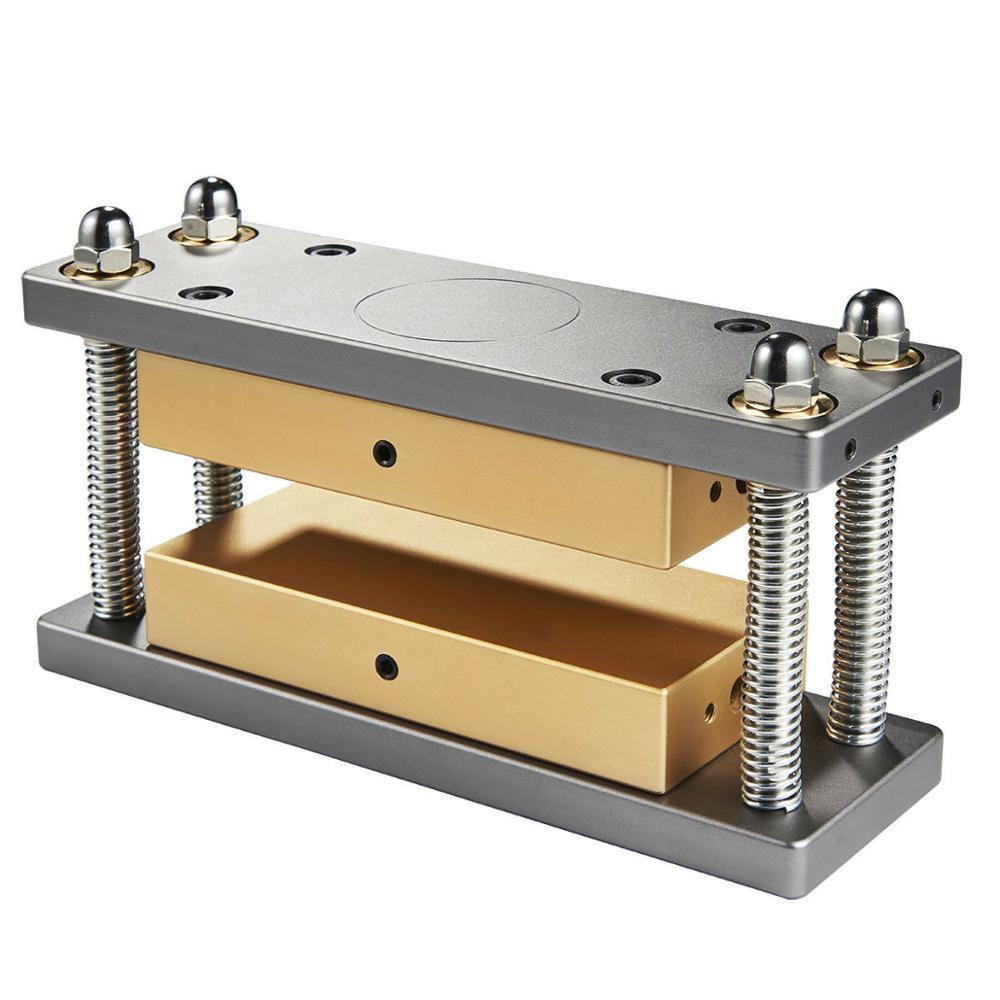 Caged DIY Rosin Press Plates Kit