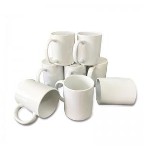 Custom Design AAA White Cup Plain coated sublimation Mug